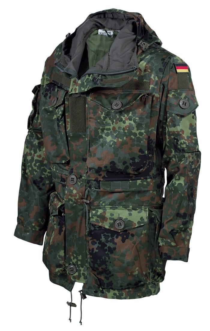 Einsatzjacke Flecktarn Ksk Bw Neu bf7IY6ygv