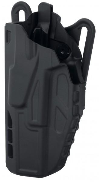 Gürtelholster Safariland 7377 Glock 17, 22 Schwarz- Links