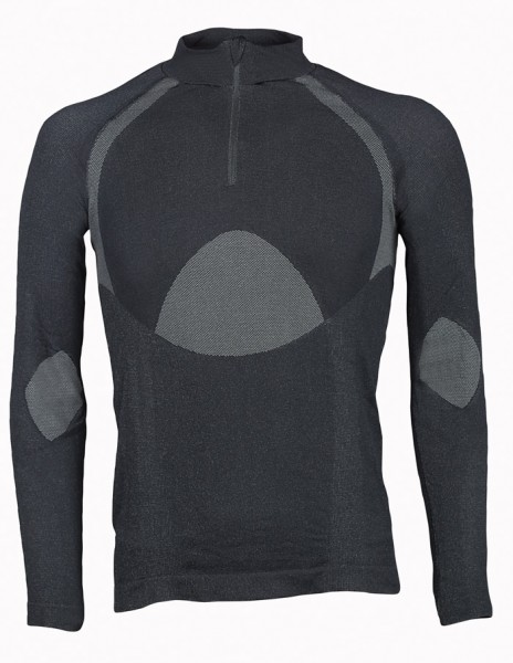 Falke Shirt mit Zip Comfort Fit