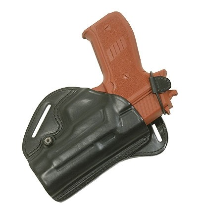 Radar Backdraw Lederholster Glock 19/23 - Rechts
