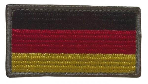 BW Nationalitätsabzeichen Textil mit Klett Klein