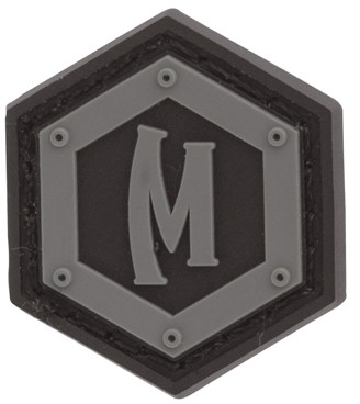 Maxpedition Rubber Patch HEX LOGO Glow