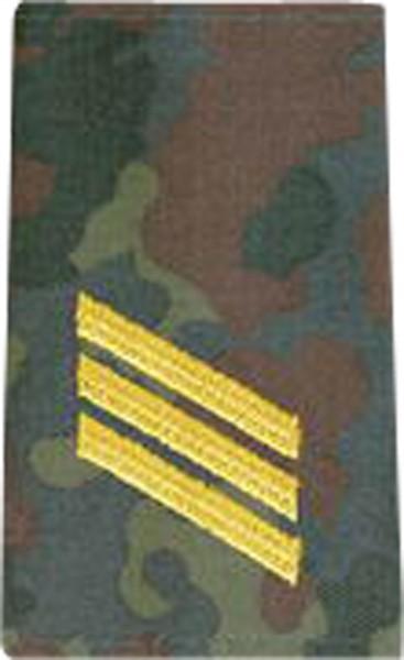 BW Rangschl. Hauptgefreiter Marine Tarn/Gold