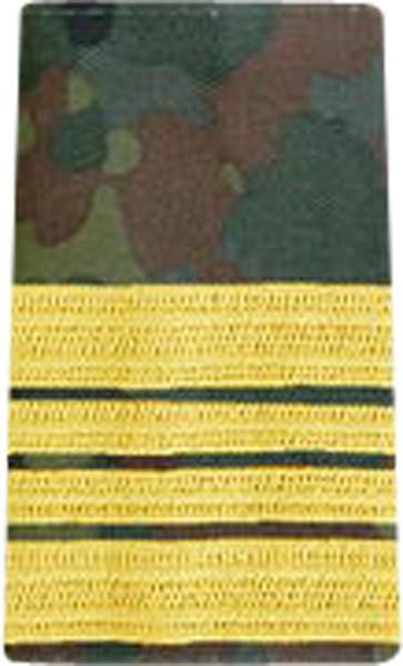 BW Rangschl. Stabskapitänleutn. Marine Tarn/Gold