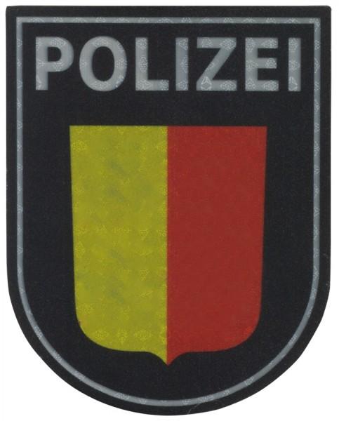 Ärmelabzeichen Polizei Schleswig-Holstein Reflektierend