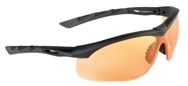 SwissEye Tactical Brille Lancer Black/Orange