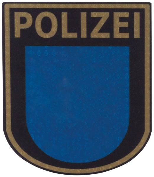 Ärmelabzeichen Polizei Thüringen Reflektierend