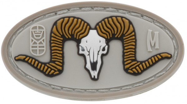 Maxpedition Rubber Patch RAM SKULL Arid