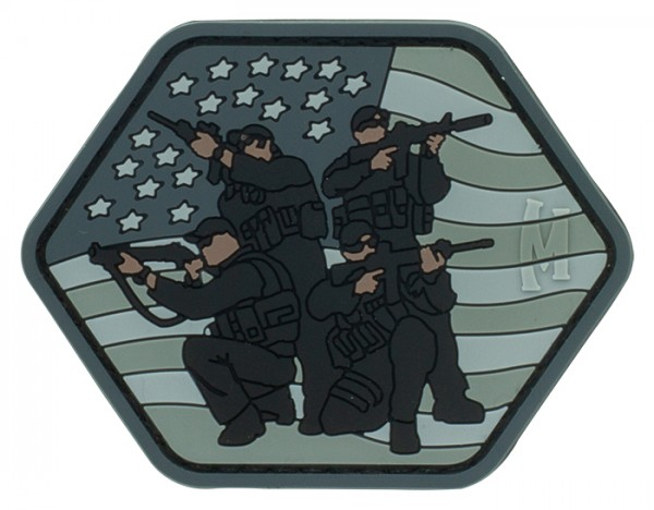 Maxpedition Rubber Patch TACTICAL TEAM Swat