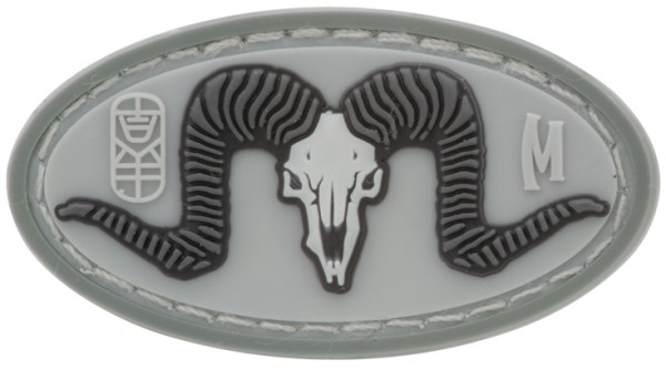Maxpedition Rubber Patch RAM SKULL Swat
