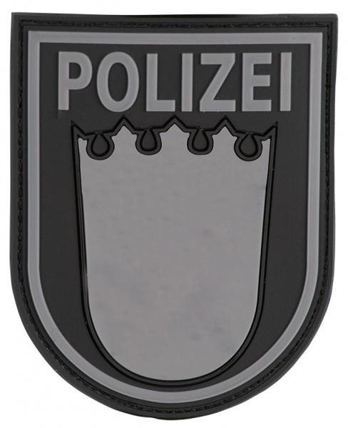 3D Ärmelabzeichen Polizei Baden Württemberg (Blackops)