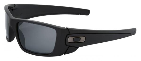 Oakley SI Fuel Cell Cerakote Graphite Black/Black Iridium Polarized O-Logoeindruck CAL.5.56