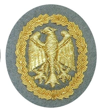 BW Leistungsabzeichen Handgestickt Gold