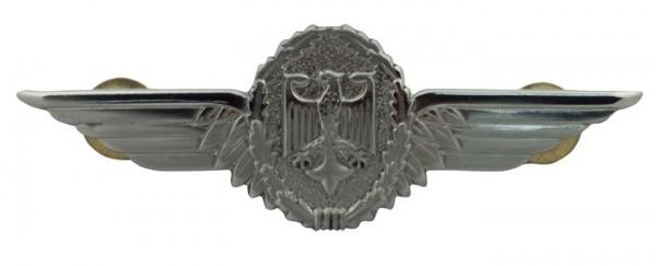 BW Tätigkeits-Abz.Militärluftfahrzeugführer Silber