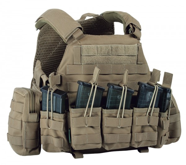Warrior DCS G36 Plate Carrier Coyote