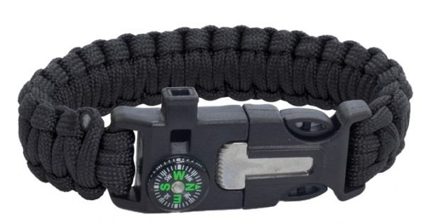 Albainox Survival Paracord Bracelet