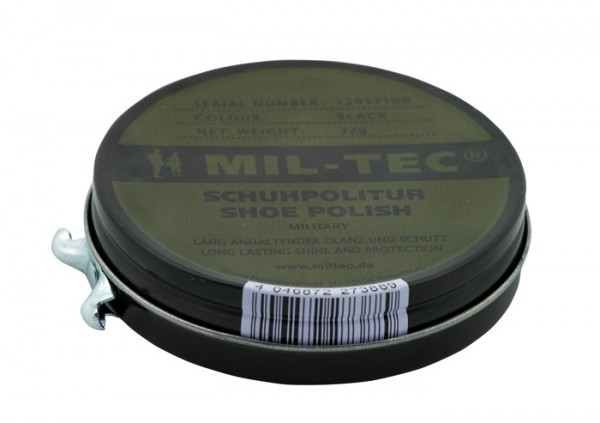 Mil-Tec Lederpflege Schwarz 32g
