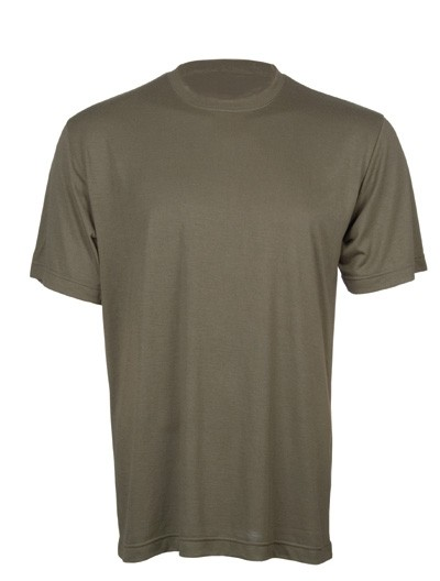 Unterhemd Coolmax-Oliv