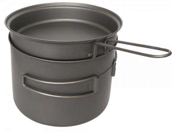Toaks Titanium Pot 1600 ml mit Pfanne