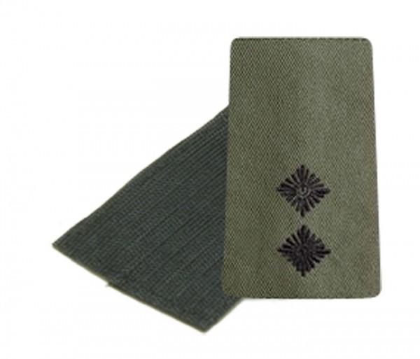 BW Rangschl. Oberleutnant Heer Oliv/Schw. Klett