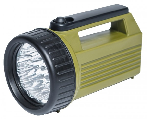 Handscheinwerfer 19 LED Oliv