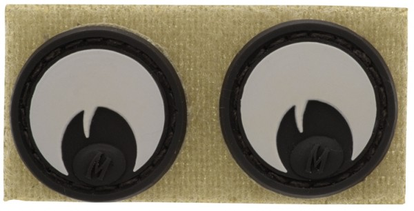 Maxpedition Rubber Patch GOOGLY EYES Arid