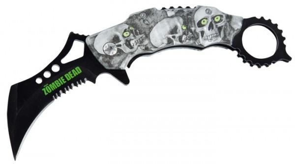 Zombie Dead Karambit Taschenmesser V.2