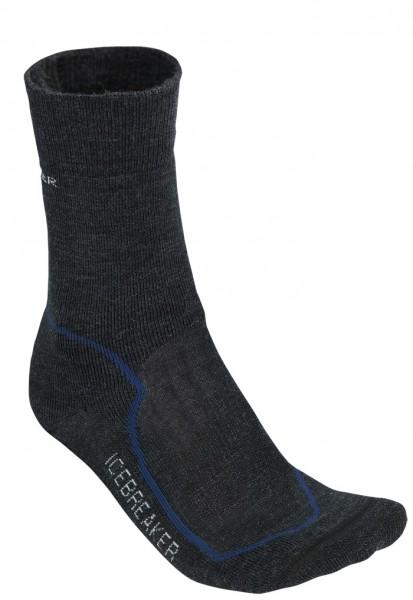 Icebreaker Socken Hike+ Medium Crew Black
