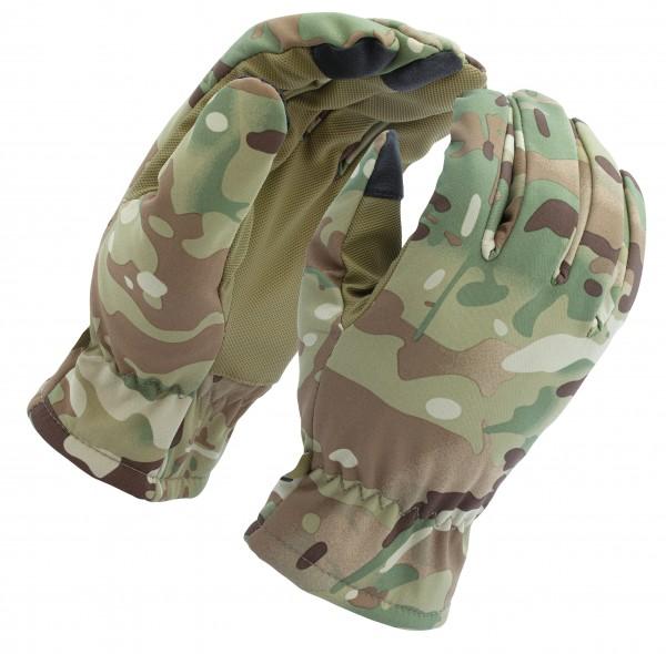 Mil-Tec Softshell Handschuhe Thinsulate Multitarn