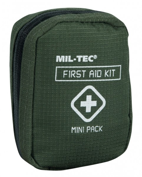 Mil-Tec First Aid Kit Mini Pack Oliv