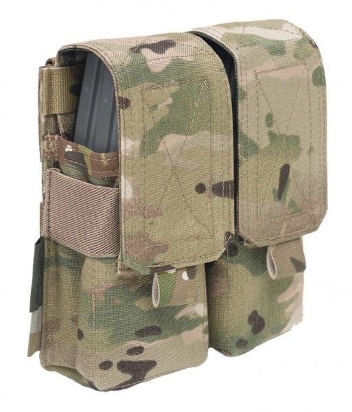 Warrior Double M4 Mag Pouch Multicam