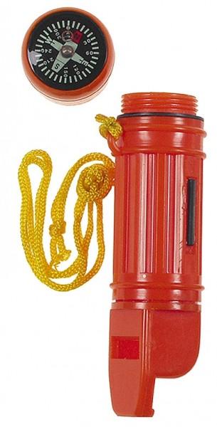 MFH Notfallset Orange 5 in 1 in Wasserdichter Box