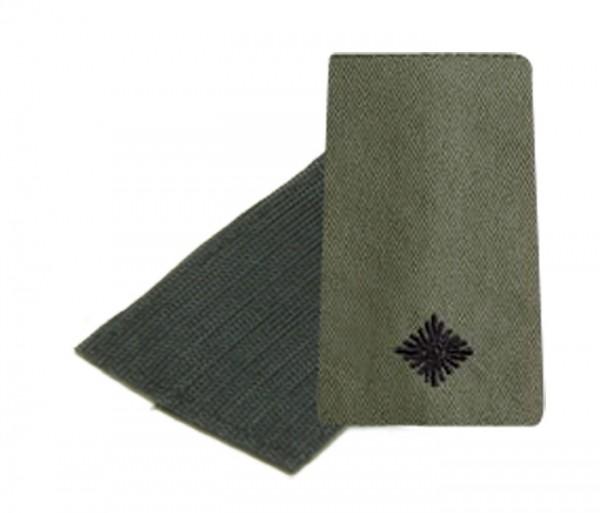 BW Rangschl. Leutnant Heer Oliv/Schwarz Klett
