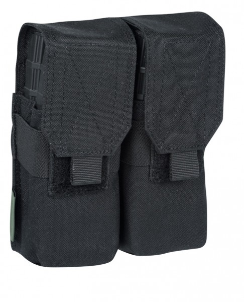 Warrior Double M4 Mag Pouch Black