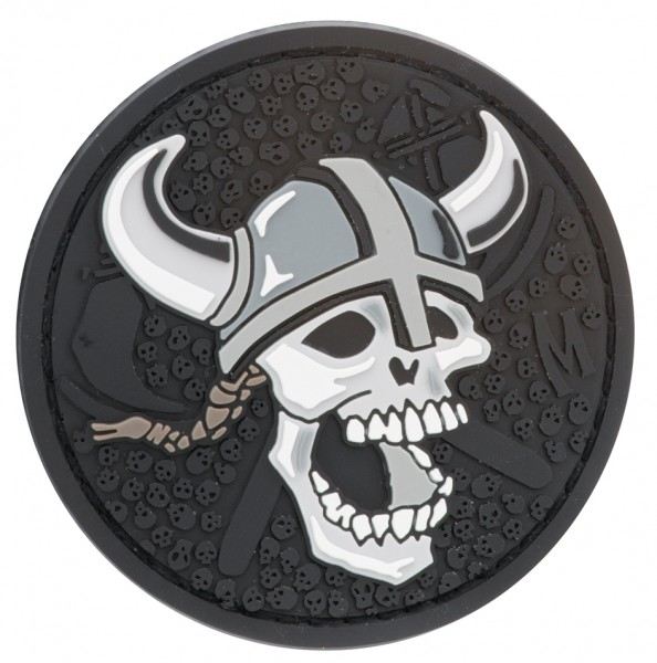 Maxpedition Rubber Patch VIKING SKULL Swat