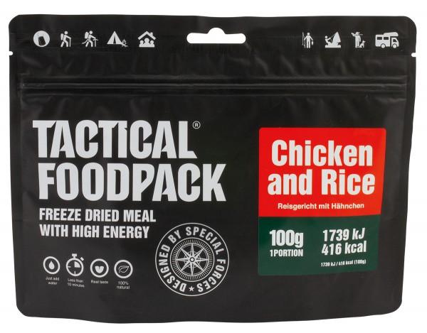 Tactical Foodpack - Reisgericht mit Hähnchen