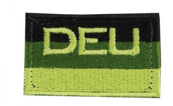 BW Hoheitsabzeichen DEU Oliv mit Klettband - Klein