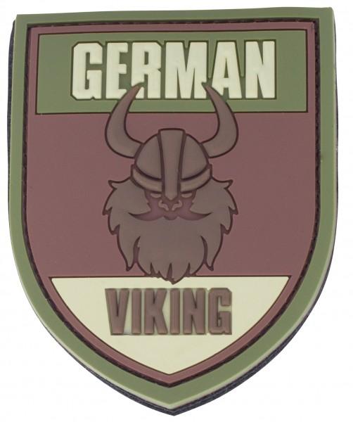 3D Rubber Patch German Viking