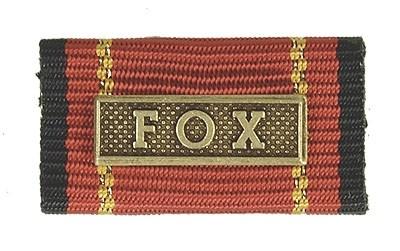 Bandschnalle Auslandseinsatz FOX