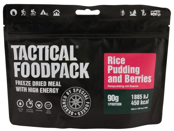 Tactical Foodpack - Reispudding mit Beeren