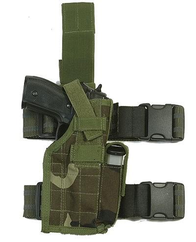 WEB-TEX Assault Oberschenkelholster Tarn