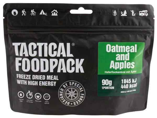 Tactical Foodpack - Haferflockenbrei mit Äpfel