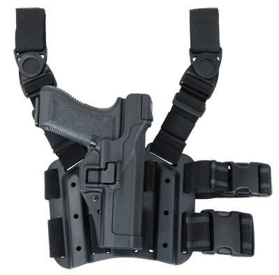 BLACKHAWK Serpa Lev3 Tiefziehholster Glock -Rechts