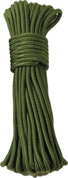 Commando Seil Oliv 15 Meter - 9 mm Durchmesser