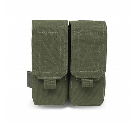 Warrior Double M4 Mag Pouch OD