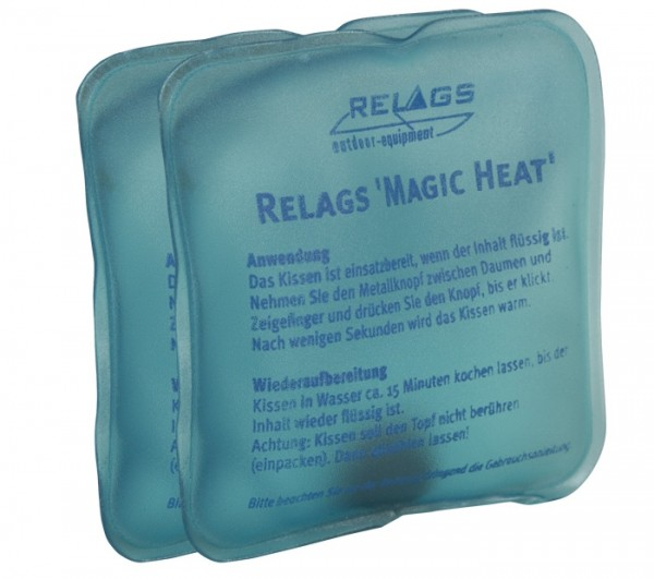 Handwärmer Gelkissen Magic Heat 2-er Satz