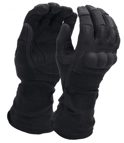 Mil-Tec Action Gloves Flammhemmend mit Stulpe