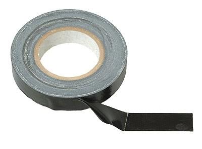 Gewebeklebeband Schwarz 50m/Rolle 25 mm Br.