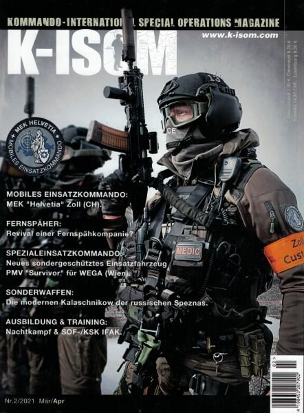 Kommando Magazin K-ISOM Ausgabe: 74 Nr. 2/2021