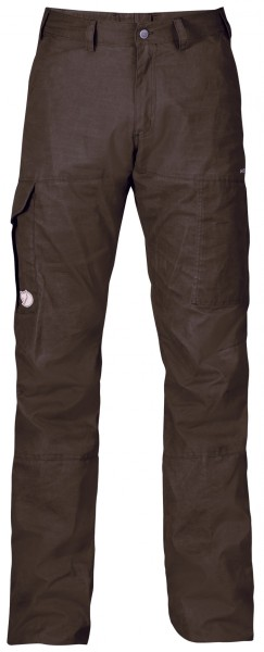 Fjällräven Outdoor Hose Karl Hydratic Black Brown